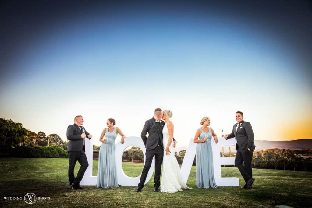 yarra valley wedding reception
