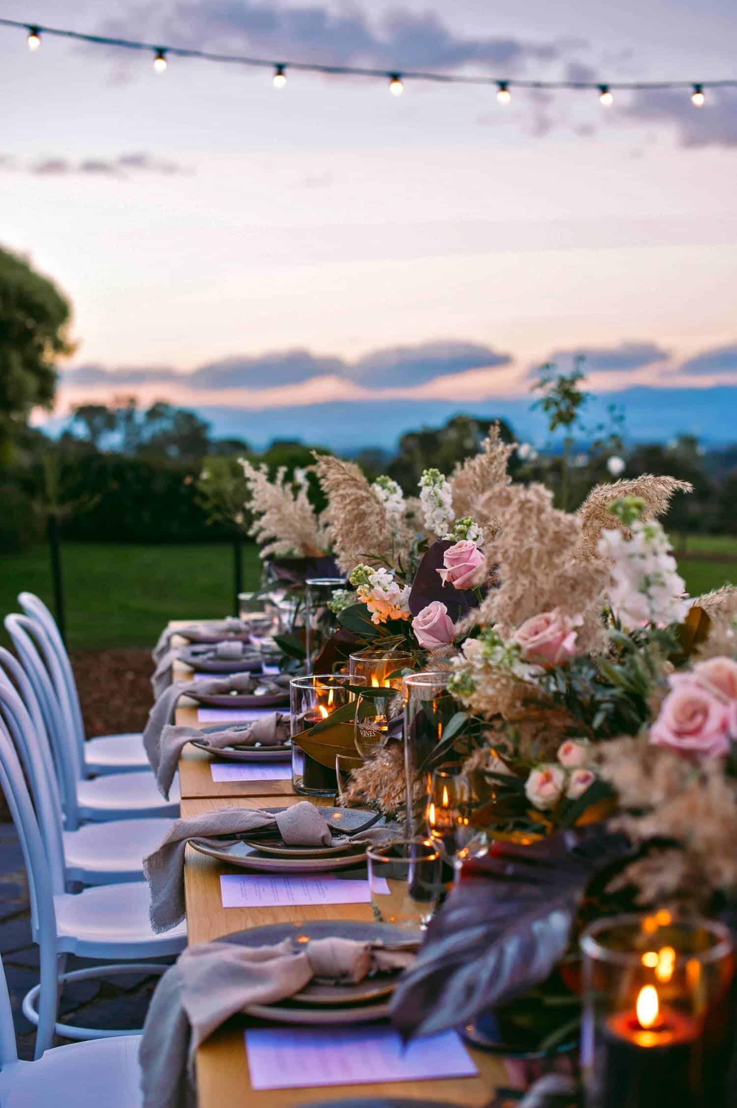 wedding planner arrangements