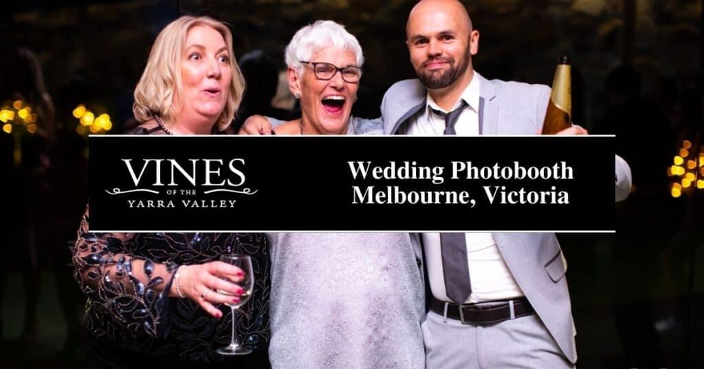 wedding photobooth melbourne, victoria vines
