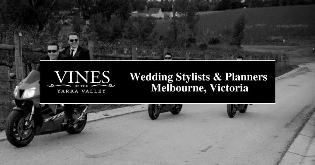 wedding stylists & planners melbourne, victoria vines