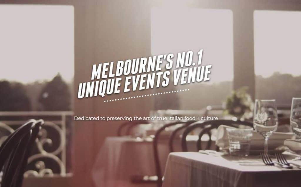 melbourne wedding venue Farm Vigano