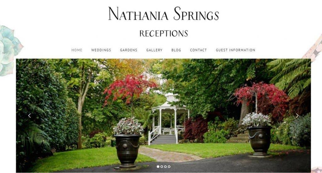 melbourne wedding venue Nathania Springs