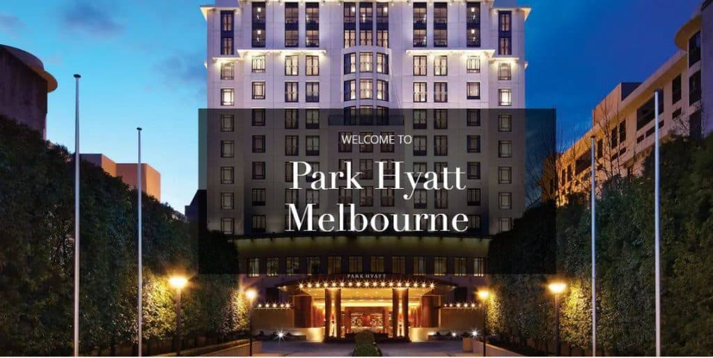melbourne wedding venue Park Hyatt