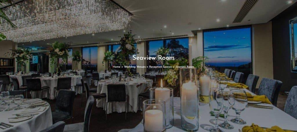 melbourne wedding venue Seaview Room