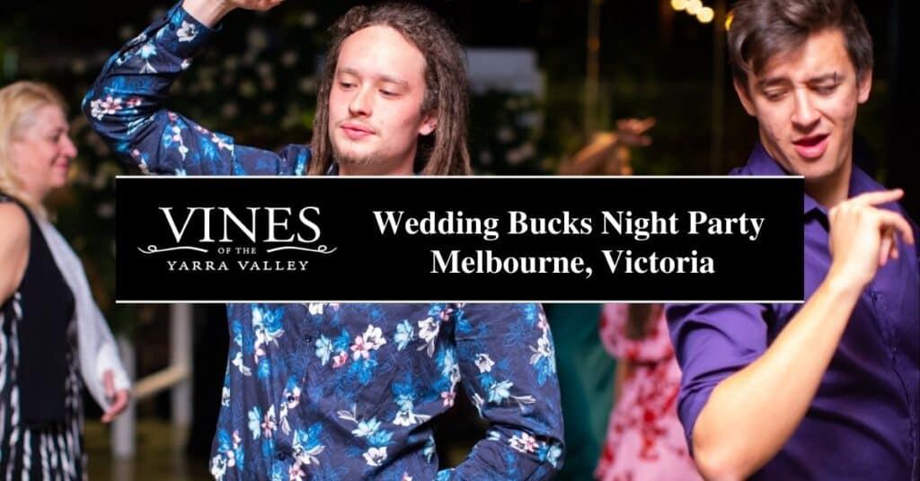 wedding bucks night party melbourne, victoria vines
