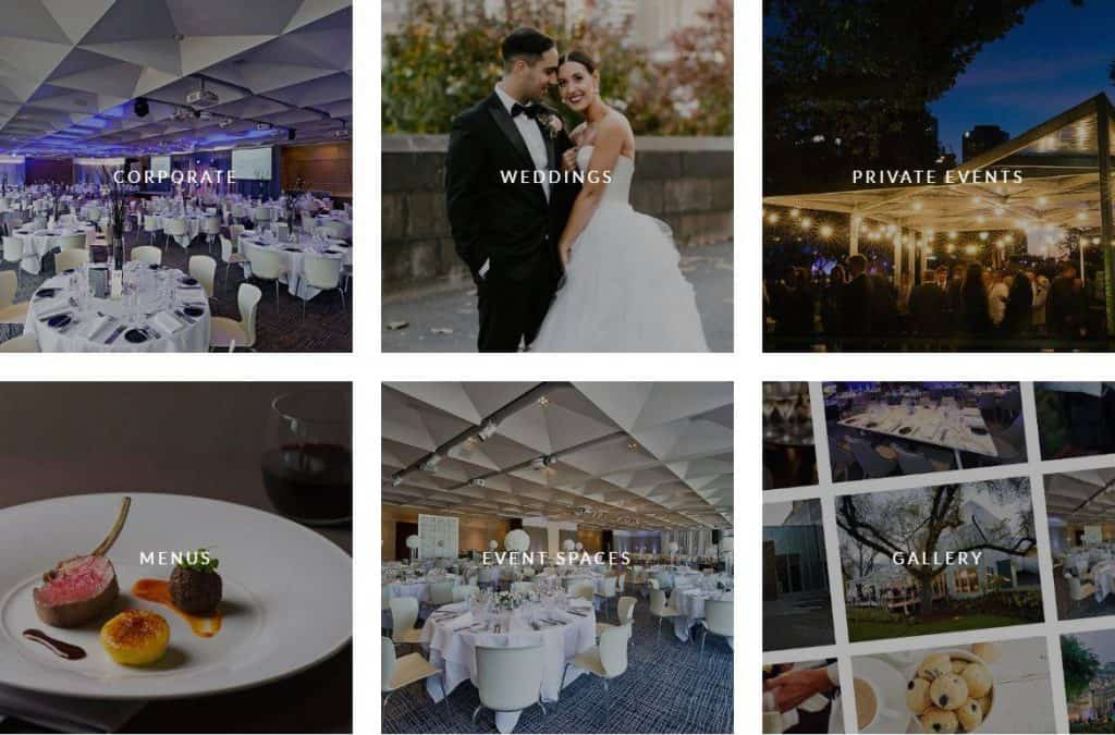 melbourne wedding venue ZINC at Federation Square