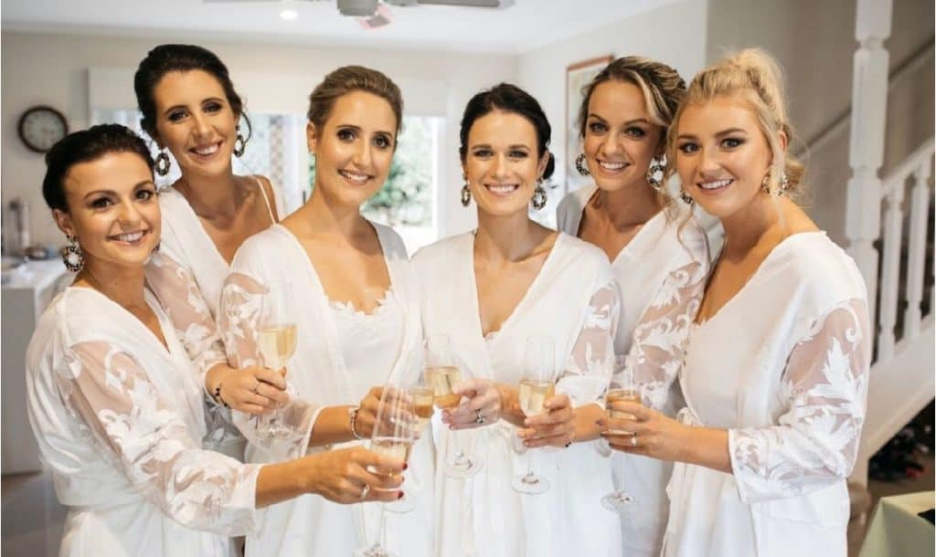kelly rose bridal party