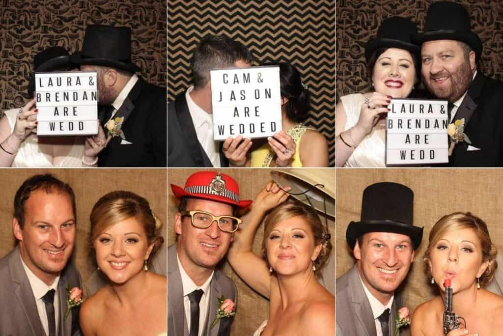 All The Hype wedding and event photo booths