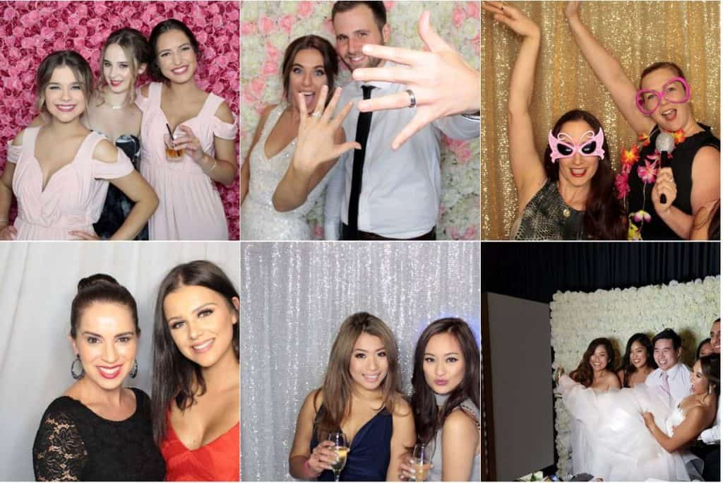 Awesome Photo Booths wedding and event captures