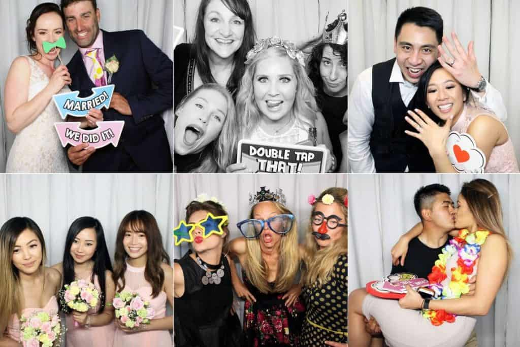 Boothy wedding photo booths and event photos