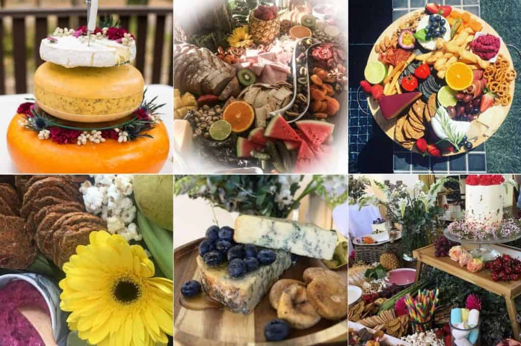 Grazing Tables gourmet wedding food