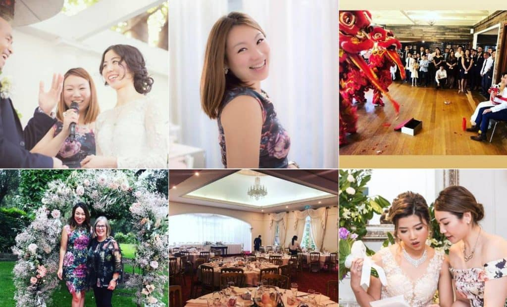 Jenny Chiu Bilingual Wedding Planning & MC Services professional planning