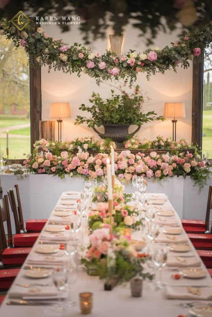 Karen Wang Weddings & Flowers event stylist