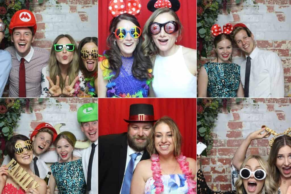 Pink Zebra Photobooths Captures and photos