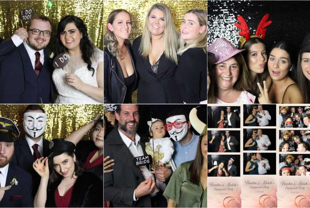 Pixel Booth wedding captures and fun