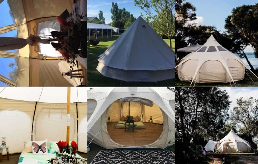 Prom Glamping events melbourne