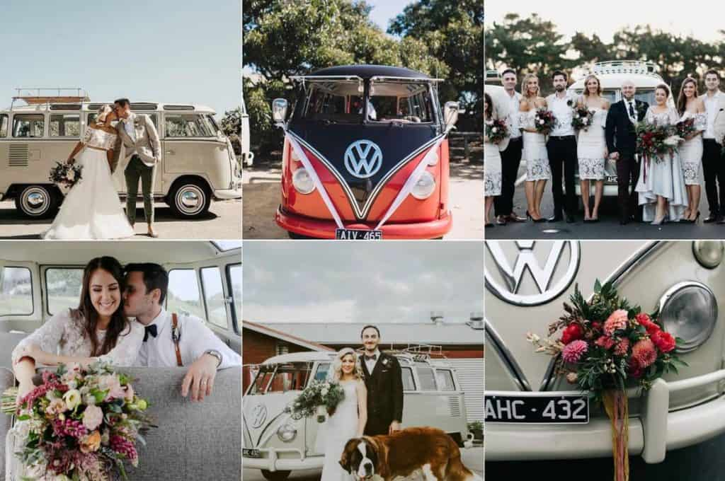 Samba Kombi wedding photo booths