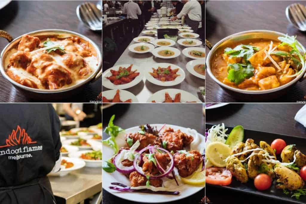 Tandoori flames quality wedding foods