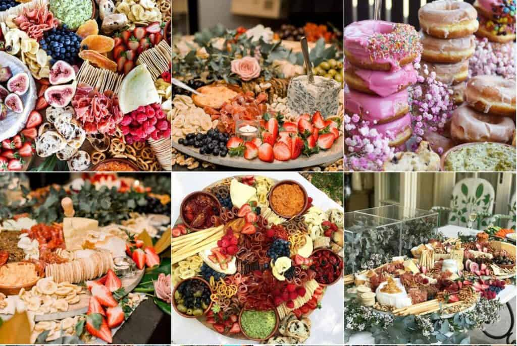 The Grazing Fox wedding catering and food
