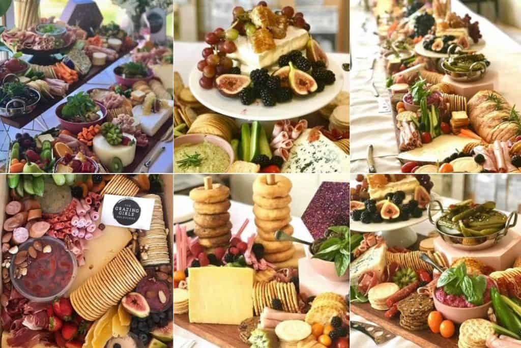 The Grazing Girls wedding catering