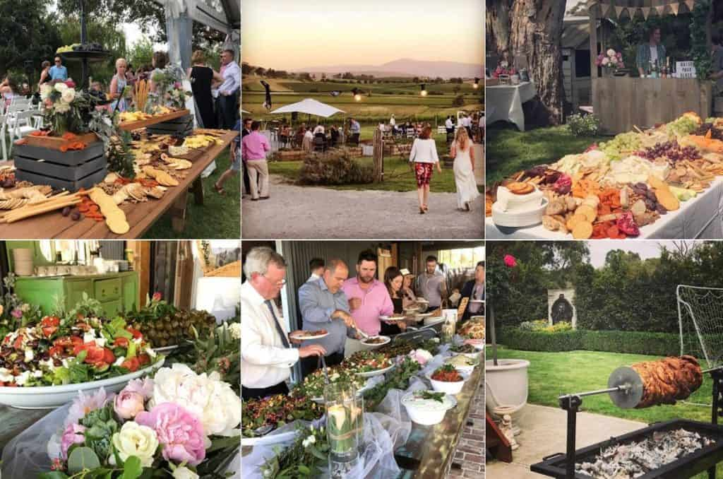 The Grecian Kitchen wedding catering