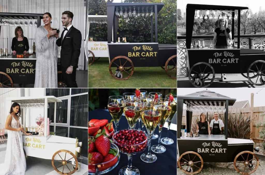 The Little Bar Cart beautiful wedding food