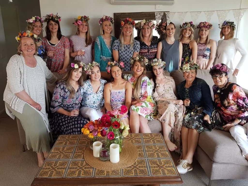 Under the Ivy hens party ideas