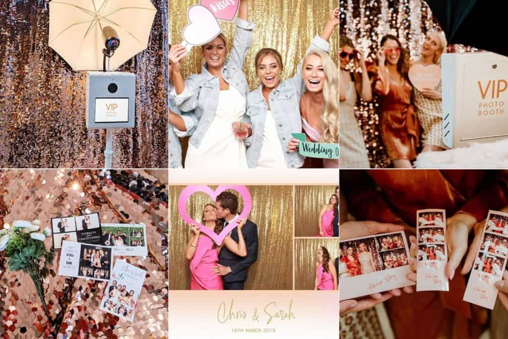 VIP Photo Booth Professional wedding photos