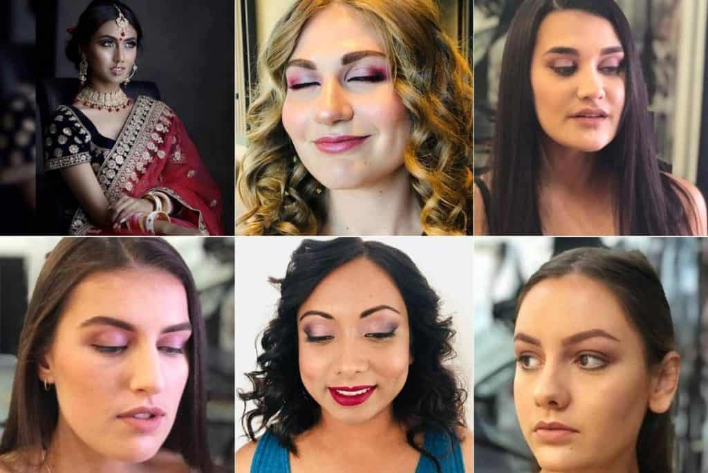 Allure - Embrace Your Beauty wedding makeup