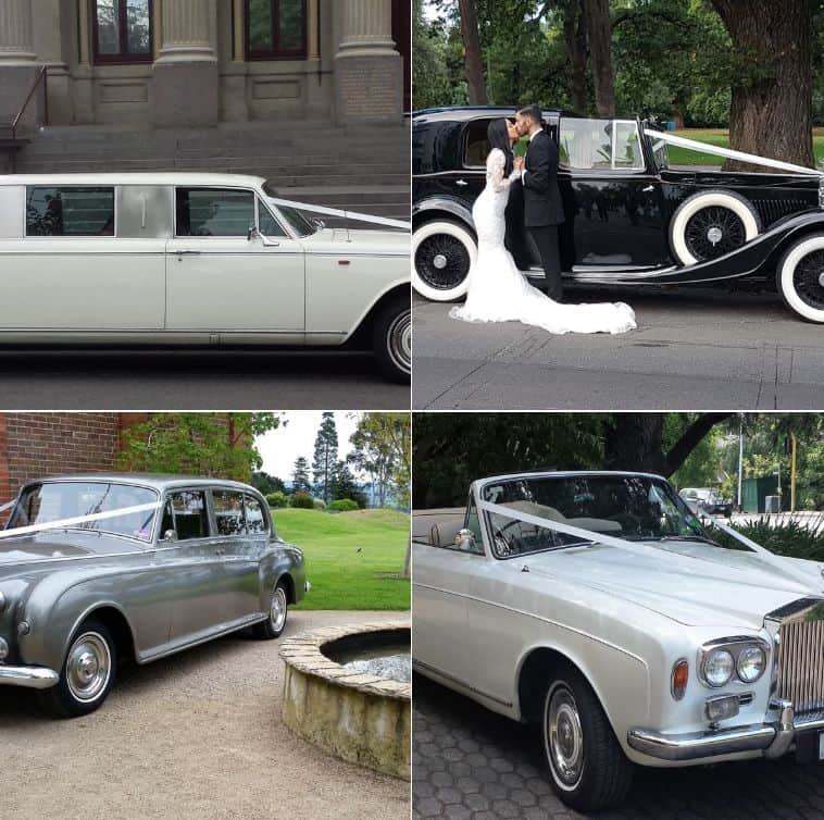 Always Classic Cars Wedding Limousines