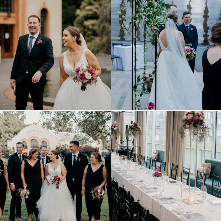Arthouse Studio Wedding Floral Design & Styling