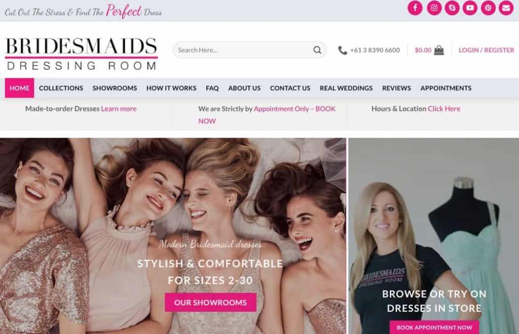Formal Wear & Bridesmaid Dress Shops Melbourne