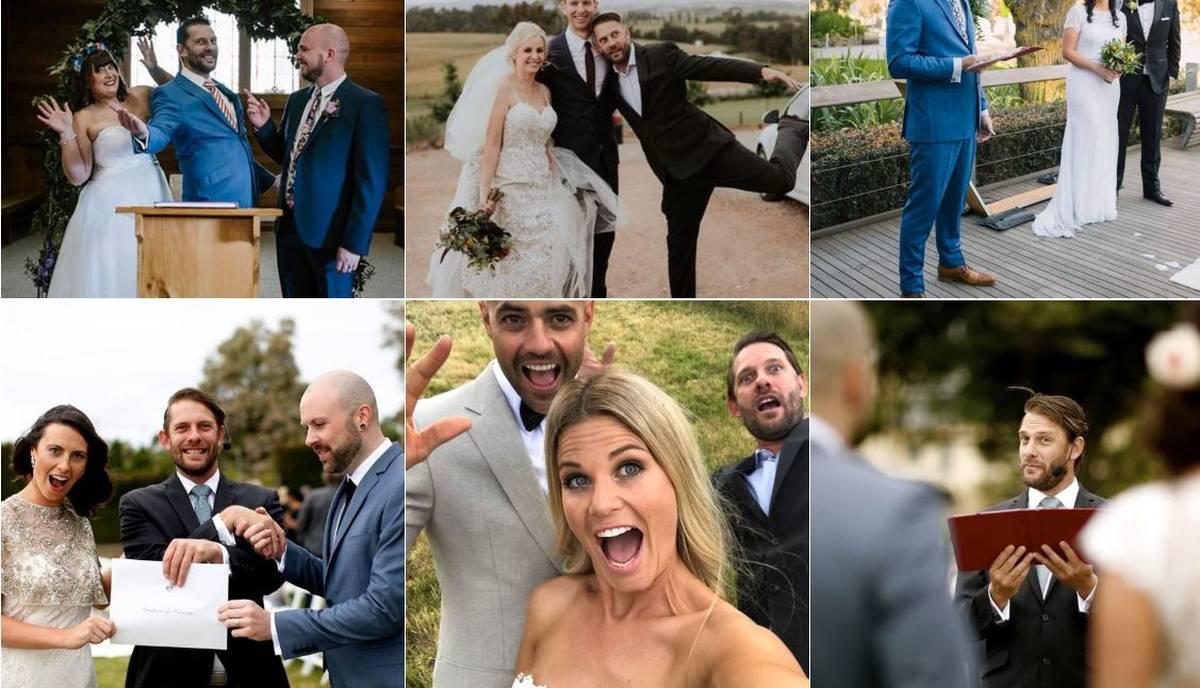 Benny Roff Fun Weddings Melbourne