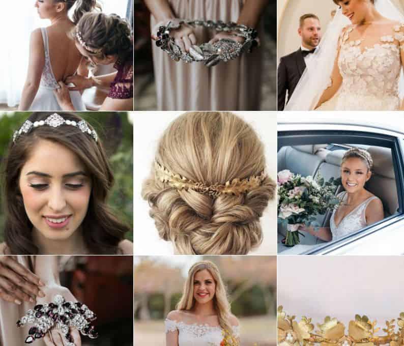 Bridal Blue wedding ornaments
