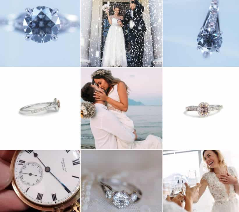 Brilliant Diamond Wedding gems