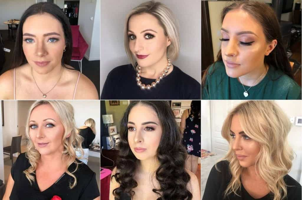 Cassie Bulner wedding makeup
