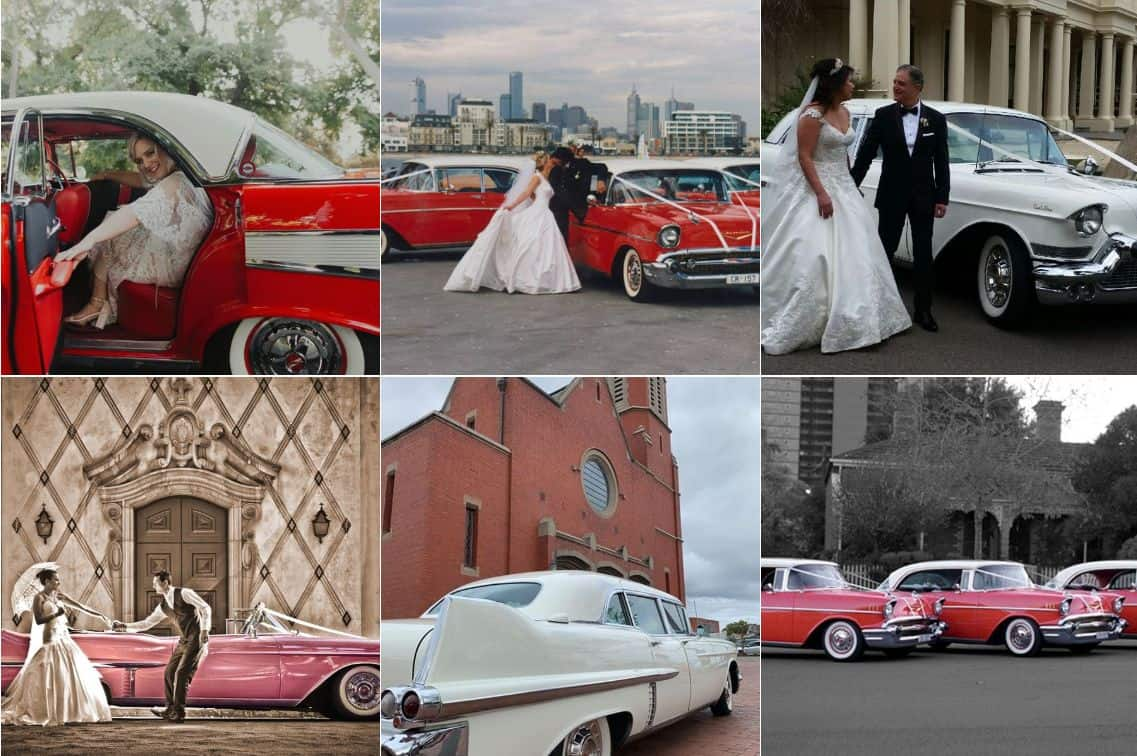 Chevy Red Hire Wedding hire