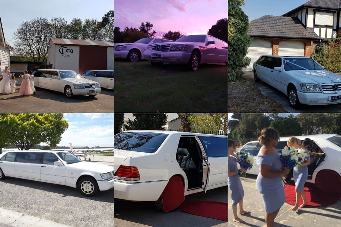 Classic and Classy Limousines wedding limos