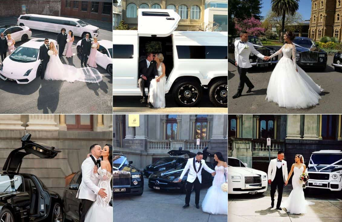 Exotic Limo Wedding limousines