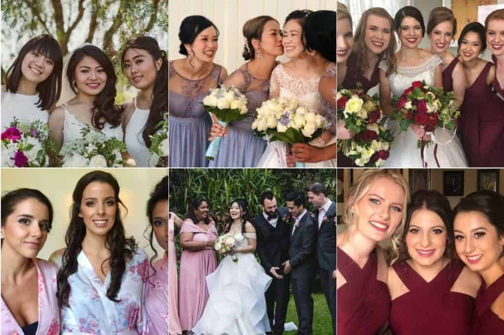 Felicia Sarwono Makeup Art wedding looks