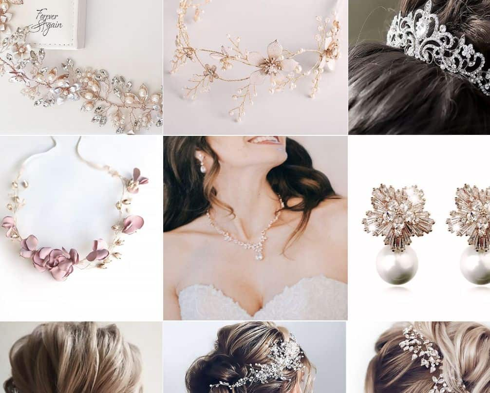 Forever and Again Bridal Jewellery and Accessories gems