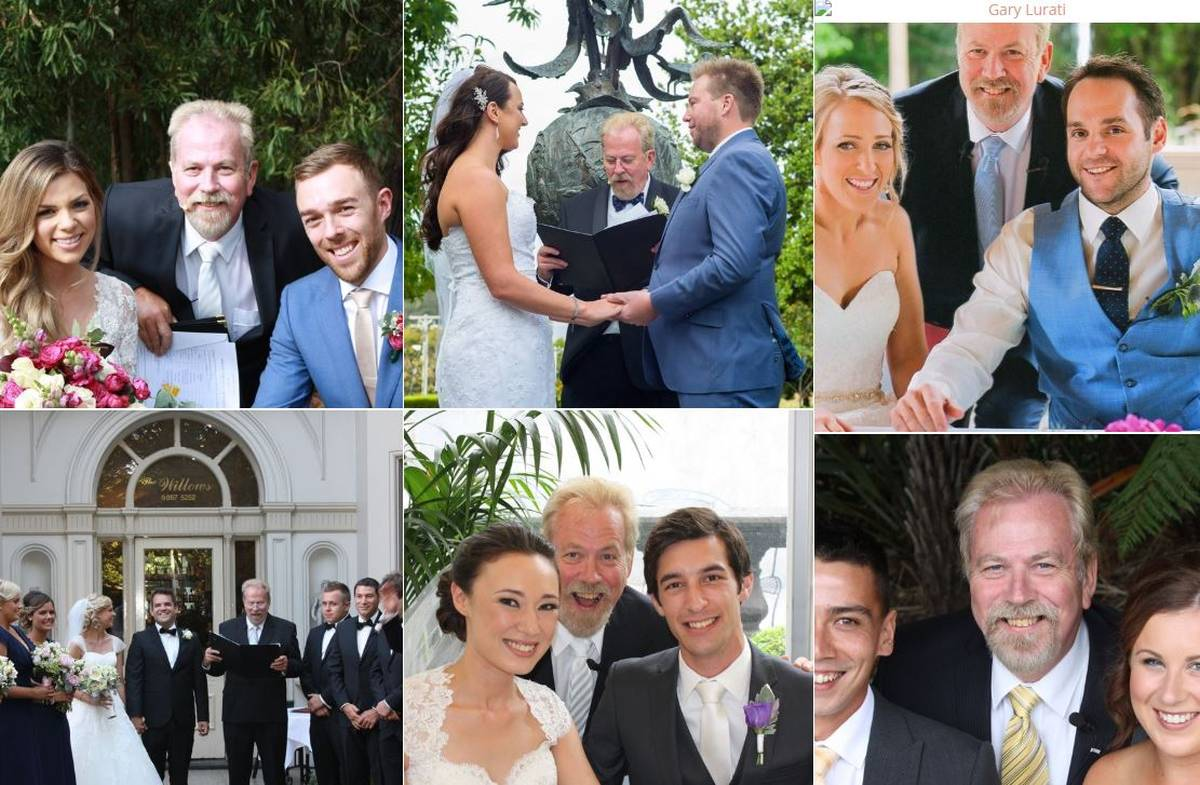 Gary Lurati Marriage Celebrant Melbourne