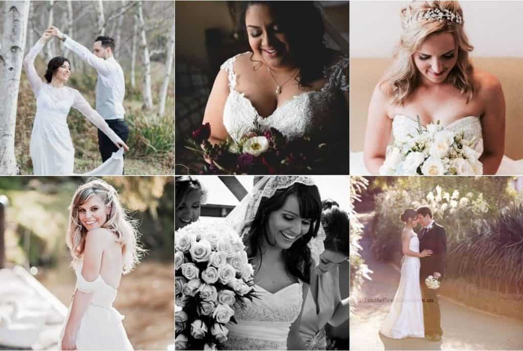 H M Allure Hair and Makeup wedding beauty