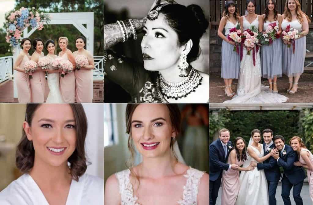 Hair and Makeup by Elly Liana wedding art