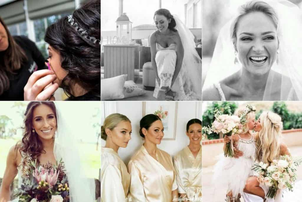 Instyle Hair for Brides wedding fun