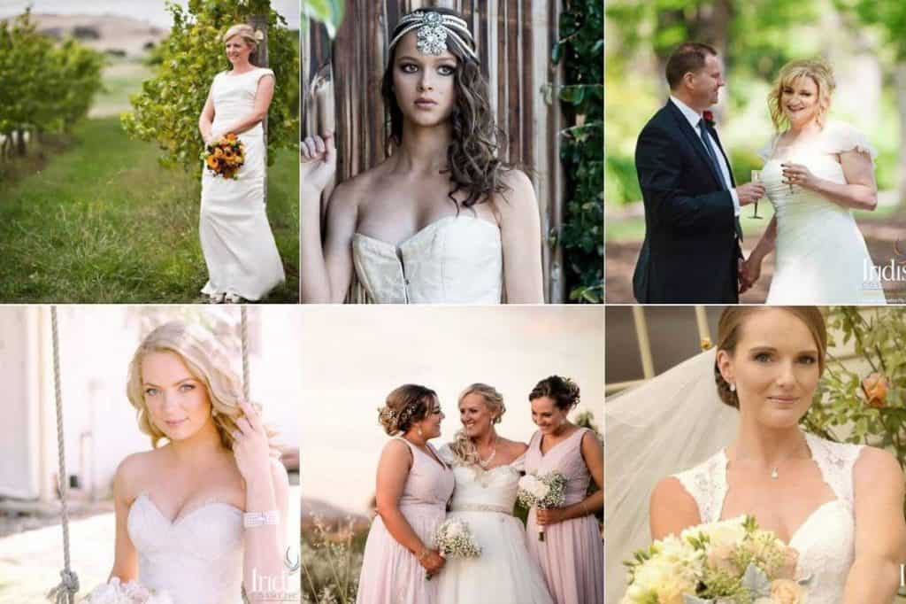 Iridis Cosmetics wedding elegance