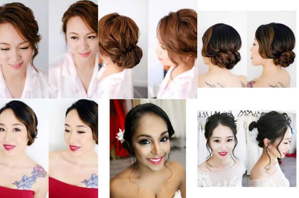 Joyce Wang Bridal Hair and Makeup wedding beauty