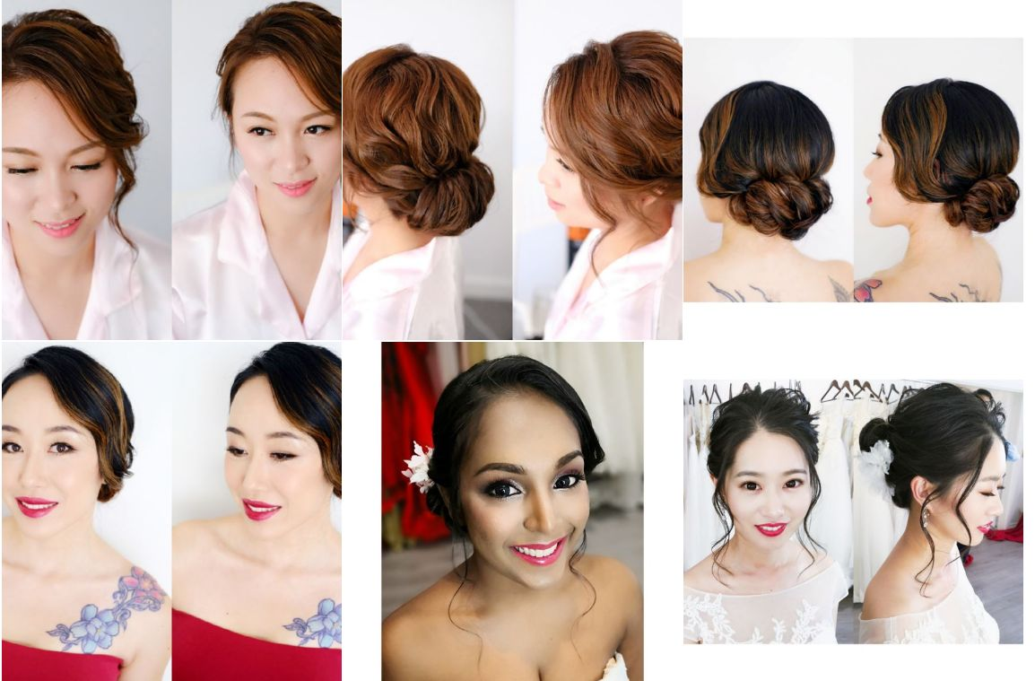 Joyce Wang Bridal Hair and Makeup