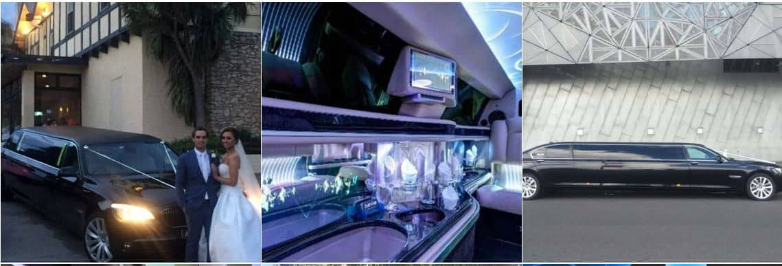 LOVE LIMO - BMW 7 SERIES STRETCH LIMO