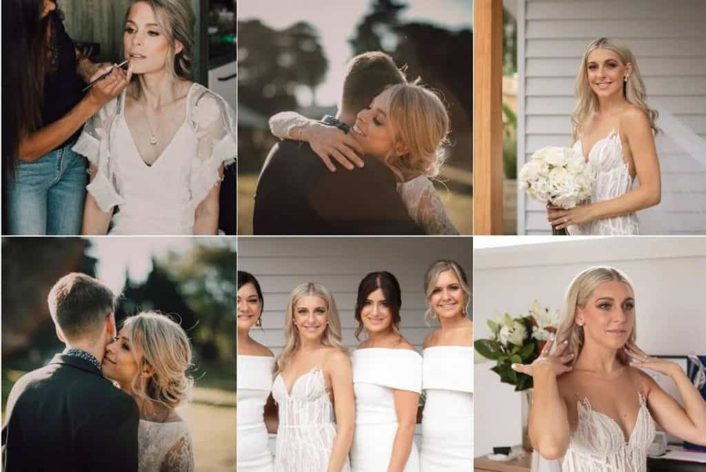 Leonie Karagiannis Makeup Artist wedding preparation